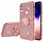 ETUI BROKAT DO HUAWEI P SMART 2019 RING CASE+SZKŁO