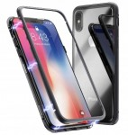 ETUI MAGNETIC CASE 360 DO IPHONE X/ XS +SZKŁO