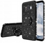 ETUI BROKAT DO SAMSUNG S8 PLUS RING CASE+SZKŁO