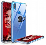 ETUI CLEAR CASE DO HUAWEI P20 LITE SLIM RING+SZKŁO