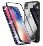 ETUI MAGNETIC CASE 360 DO IPHONE XR+SZKŁO