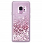 ETUI BROKAT DO SAMSUNG S9 PLUS LIQUID CASE+SZKŁO