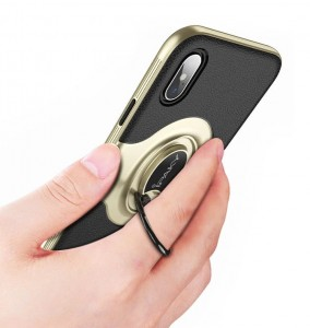 Etui iPaky 360 Ring Bumper iPhone X 10